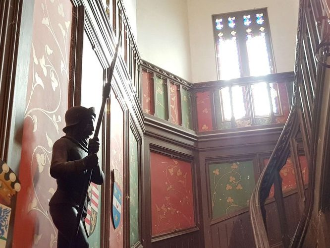 chambre d'hôtes au château Escalier de Salvert