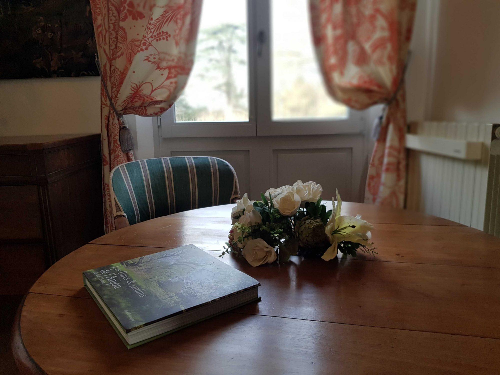 Chambre d'hôtes au château saumur