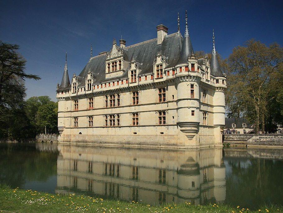 Châteaux sites touristiques d'Azay-le-Rideau