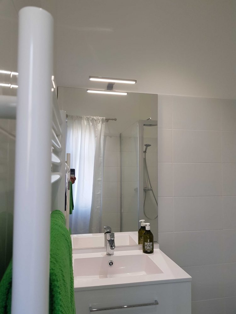 salle de bain Chambre d'hôtes au château de Salvert