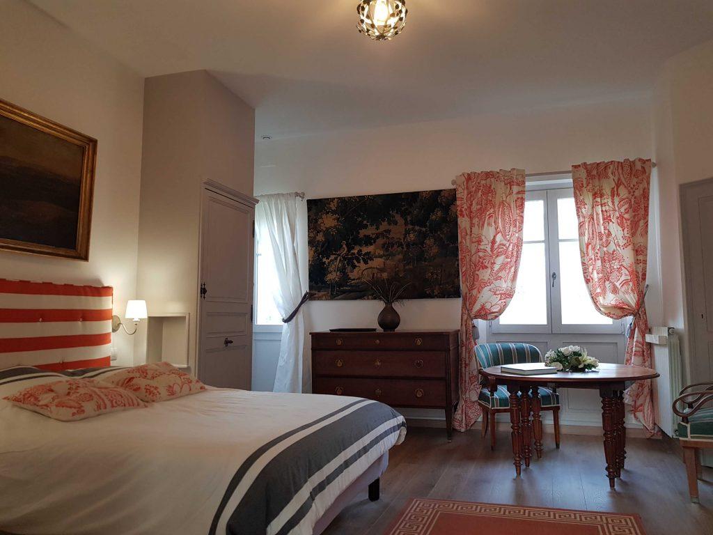 Chambre d'hôtes au château Val de Loire