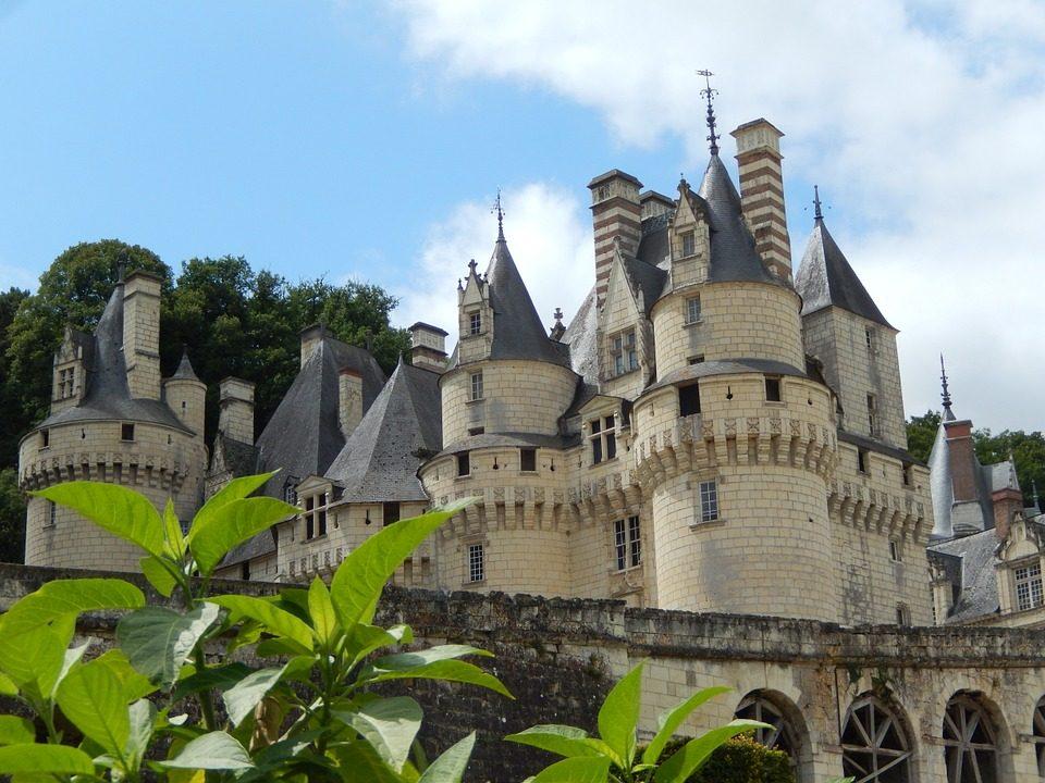 Châteaux sites touristiques d'Ussé