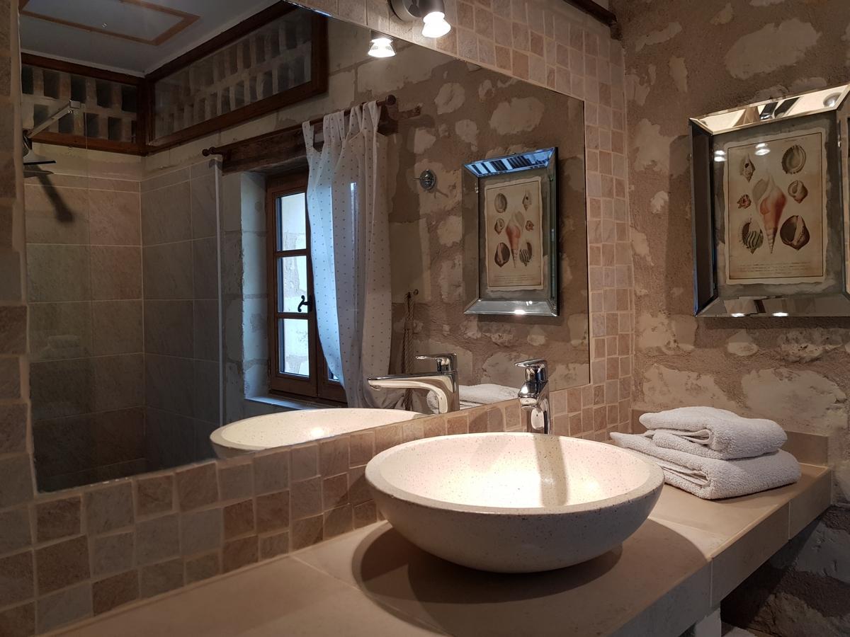 Salle de bain cottages la boulangerie gite