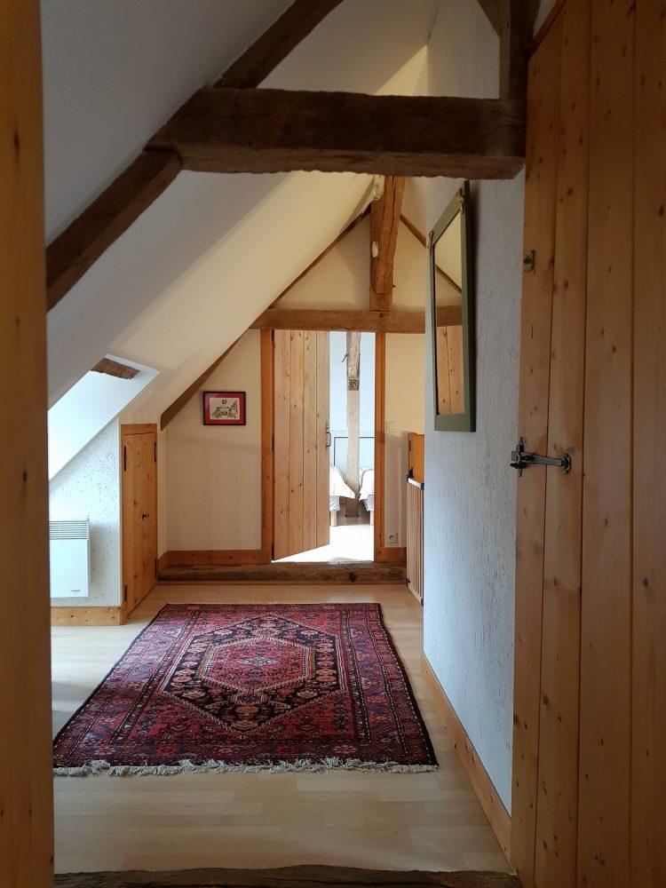 couloir cottage gite la brosse