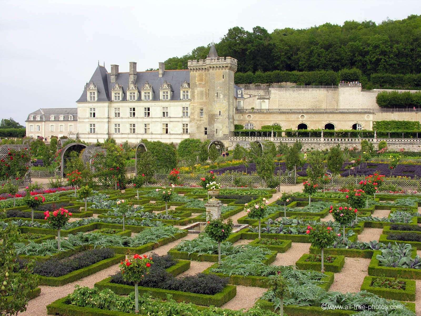 Châteaux sites touristiques et jardins de Villandry